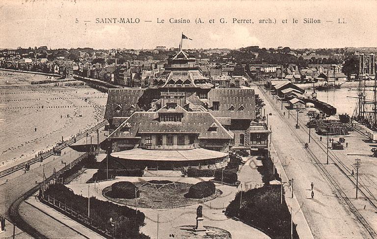 Casino et sillon de Saint-Malo