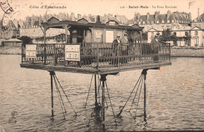 Le pont roulant de Saint-Malo