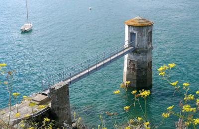 Le marégraphe de Saint-Servan à Saint-Malo
