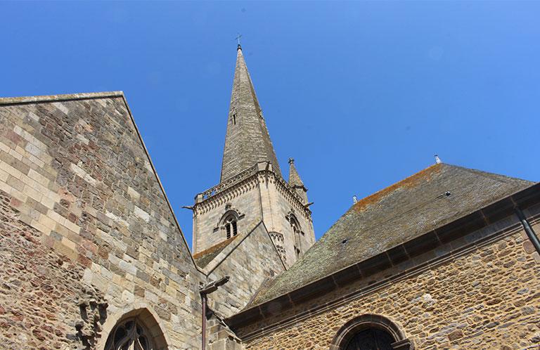 Le clocher de la Cathédrale de Saint-Malo