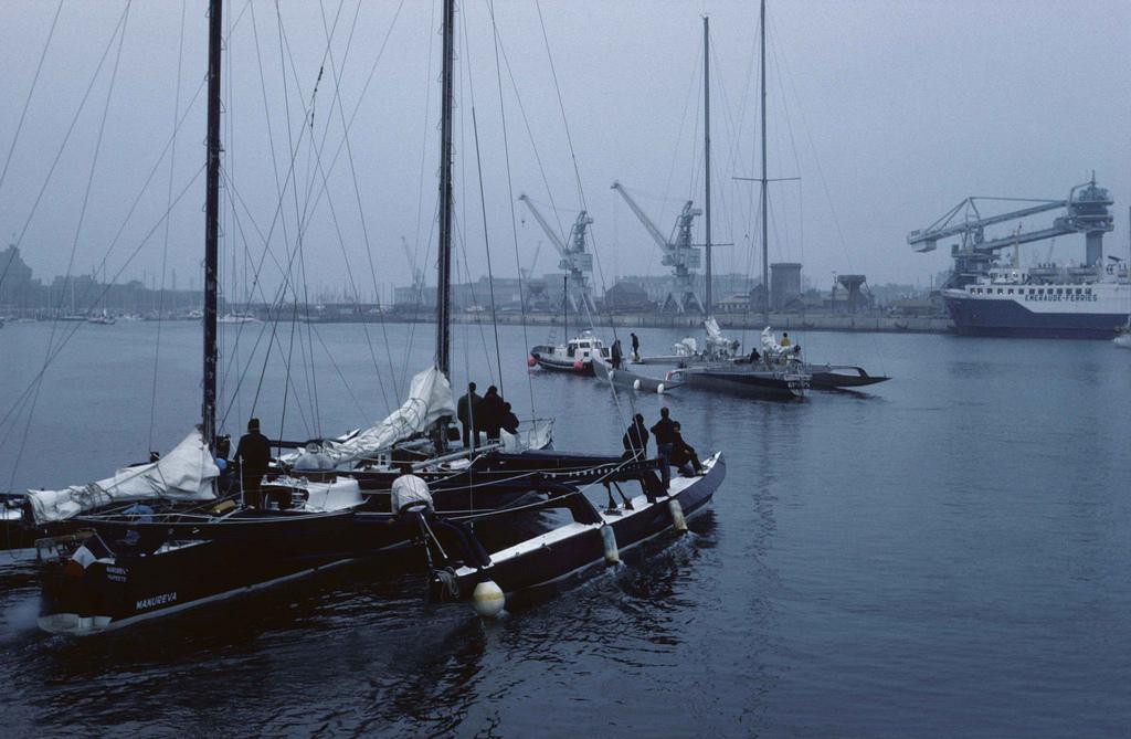 Manureva, le bateau d'Alain Colas sur la Route du Rhum 1978