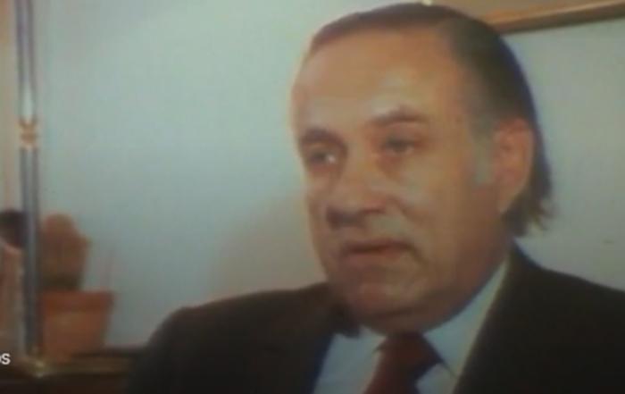 Michel Etevenon, créateur de la Route du Rhum