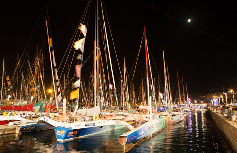 Route du Rhum 2014 - Village départ & bataux des skippers