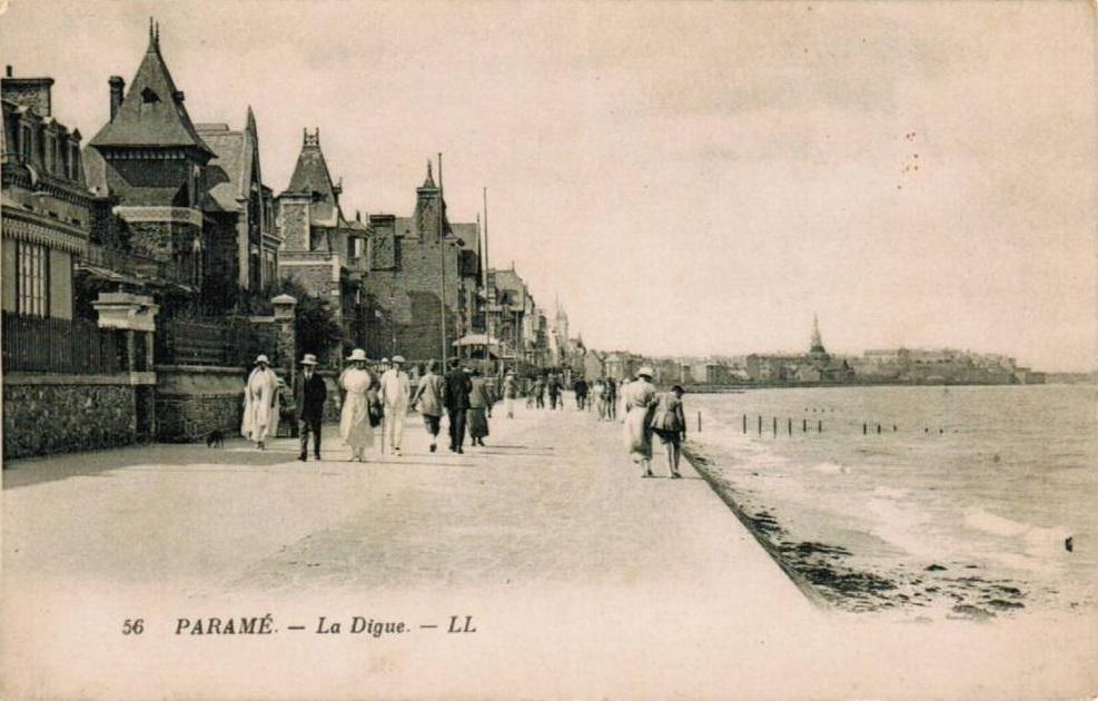 Digue de Rochebonne à Saint-Malo