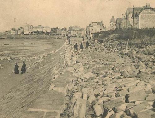1905 : un raz-de-marée ravage la digue de Rochebonne