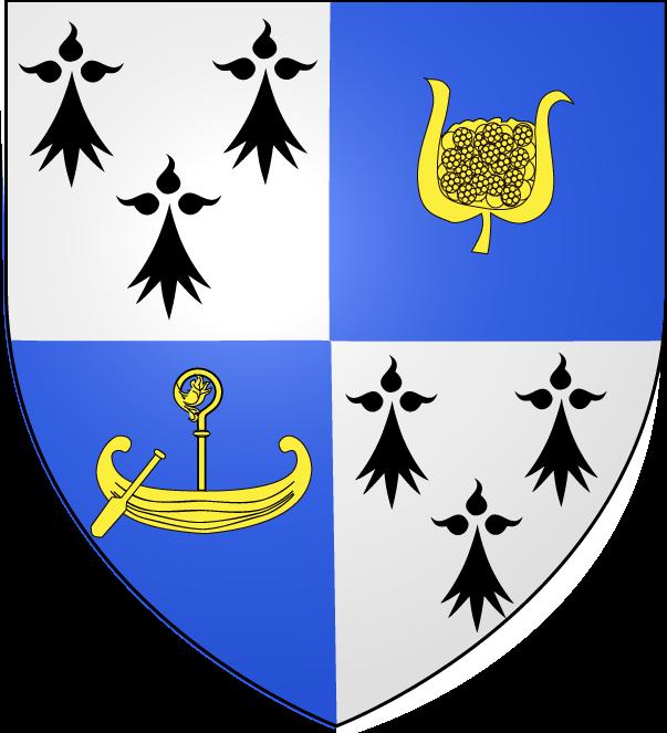 Blason de la ville de St-Jouan-des-Guérets