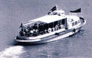 La vedette AB1 dans les années 1970