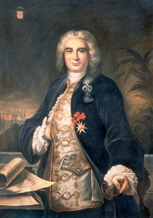 Portrait Bertrand François Mahe de la Bourdonnais
