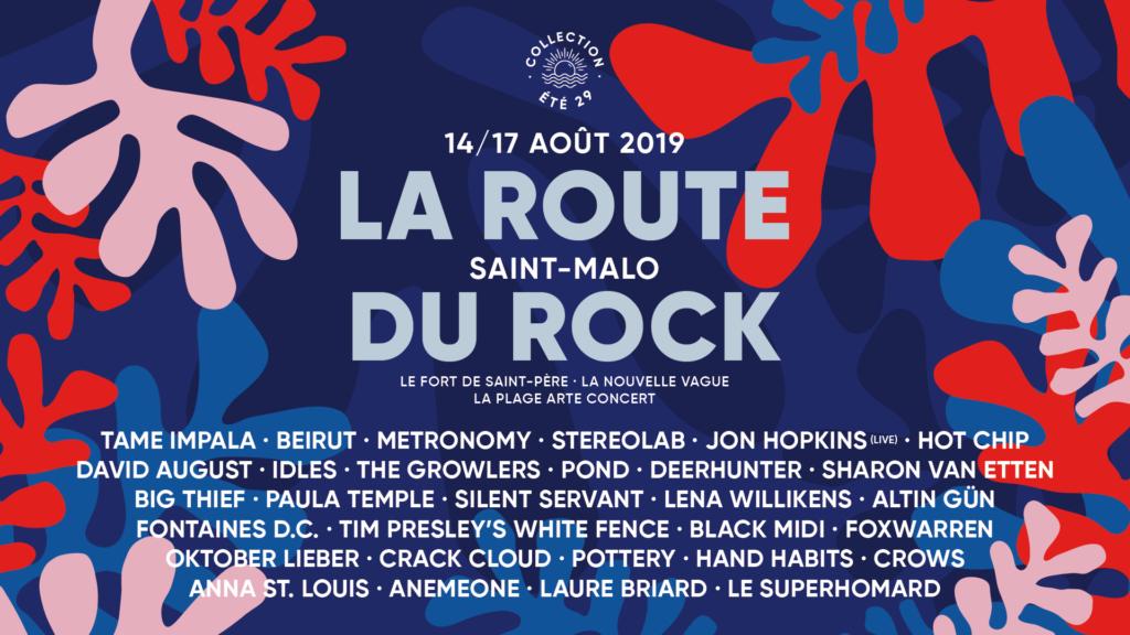 programmation route du rock 2019