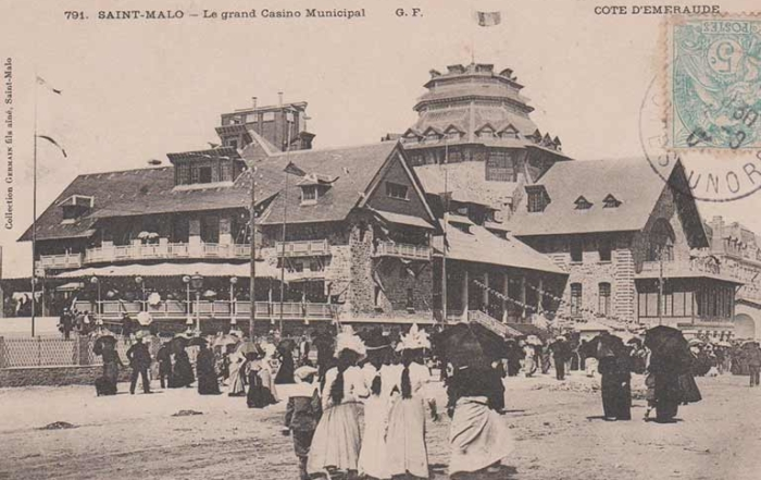 Le grand Casino Municipal de Saint-Malo