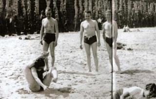 Céline en vacances à Saint-Malo (été 1938)