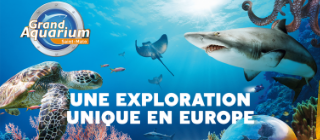 Billet Open 2020 - Grand Aquarium de Saint-Malo