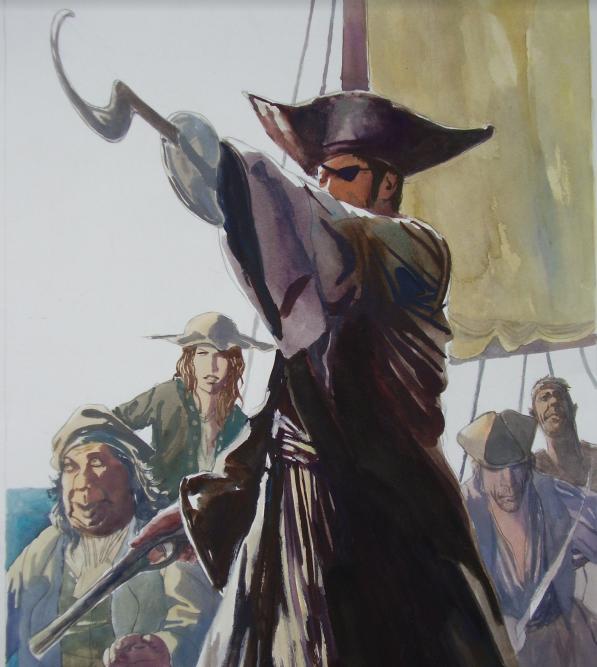 Corsaire du Roy - Le capitaine Roscoff