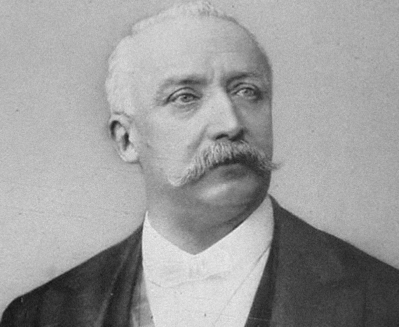 Portrait officiel du président Félix Faure