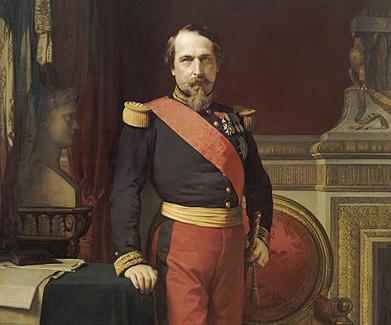 Napoléon III par Jean Hippolyte Flandrin