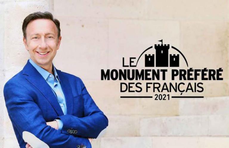 Affiche Stéphane Bern Le monument préféré des français (France TV)
